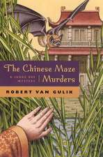 The Chinese Maze Murders – A Judge Dee Mystery
