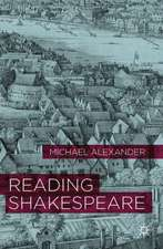 Reading Shakespeare