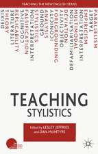 Teaching Stylistics