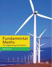 Fundamental Maths: For Engineering and Science