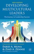 Developing Multicultural Leaders: The Journey to Leadership Success