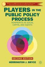 Players in the Public Policy Process: Nonprofits as Social Capital and Agents