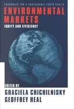 Environmental Markets – Equity & Efficiency