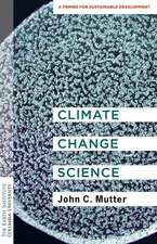 Climate Change Science – A Primer for Sustainable Development