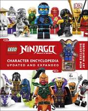 LEGO Ninjago Character Encyclopedia Updated Edition [Spanish edition]