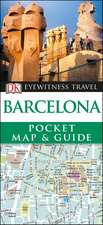 DK Eyewitness Barcelona Pocket Map and Guide