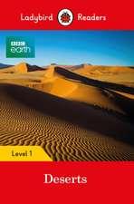 BBC Earth: Deserts – Ladybird Readers Level 1