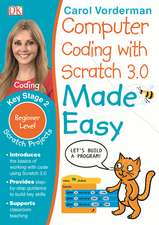 Computer Coding with Scratch 3.0 Made Easy, Ages 7-11 (Key Stage 2): Beginner Level Computer Coding Exercises