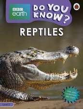 Do You Know? Level 3 – BBC Earth Reptiles