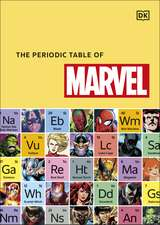 The Periodic Table of Marvel