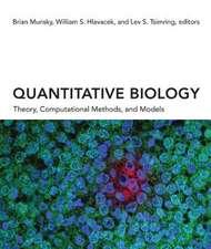 Quantitative Biology – Theory, Computational Methods, and Models