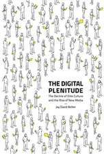 The Digital Plenitude – The Decline of Elite Culture and the Rise of New Media