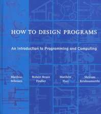 How to Design Programs – An Introduction to Programming & Computing