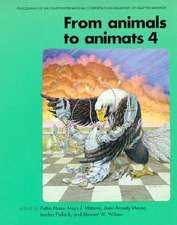 From Animals to Animats 4 – Proceedings of the Fourth International Conference on Simulation of Adaptive Behavior