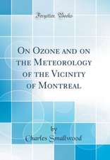 On Ozone and on the Meteorology of the Vicinity of Montreal (Classic Reprint)