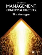 Management:  Concepts &Practices