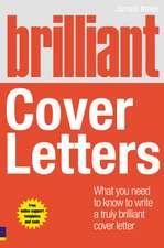 Brilliant Cover Letters