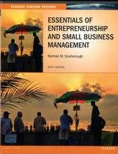 Scarborough, N: Essentials of Entrepreneurship and Small Bus
