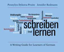 Schreiben lernen: A Writing Guide for Learners of German