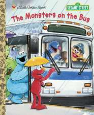 The Monsters on the Bus (Sesame Street):  Picture This [With 4 Crayons]