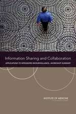 Information Sharing and Collaboration