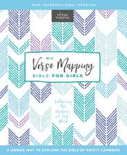 NIV, Verse Mapping Bible for Girls, Hardcover, Comfort Print: Gathering the Goodness of God's Word
