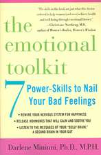 The Emotional Toolkit:  Seven Power-Skills to Nail Your Bad Feelings
