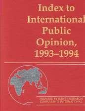 Index to International Public Opinion, 1993-1994