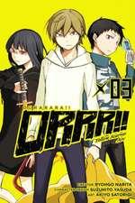 Durarara!! Yellow Scarves Arc, Vol. 3