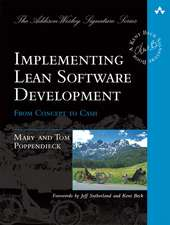 Implementing Lean Software Development