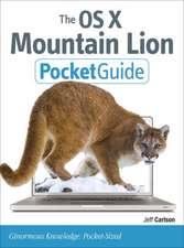 Carlson, J: OS X Mountain Lion Pocket Guide