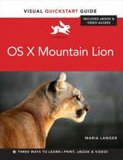OS X Mountain Lion Includes eBook & Video Access:  A Pocket Handbook