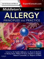 Middleton's Allergy 2-Volume Set: Principles and Practice (Expert Consult Premium Edition - Enhanced Online Features and Print)