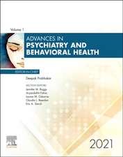 Advances in Psychiatry and Behavioral Heath, 2021