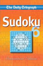 Daily Telegraph Sudoku 6 'connoisseur Edition'