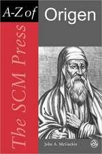 Scm Press A-Z of Origen