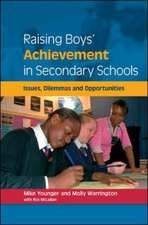 Raising Boys' Achievement in Secondary Schools
