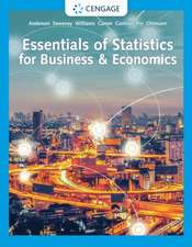 Essentials of Statistics for Business & Economics