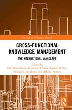 CROSS-FUNCTIONAL KNOWLEDGE MANAGEME