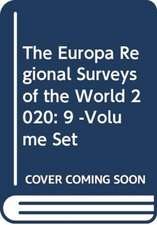 Europa Regional Surveys of the World 2020