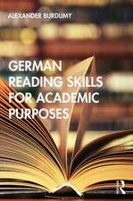 German Reading Skills for Academic Purposes