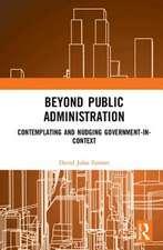 Beyond Public Administration