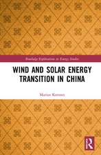 Korsnes, M: Wind and Solar Energy Transition in China