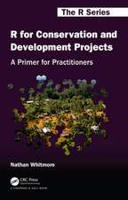 R for Conservation and Development Projects