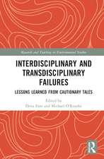 Interdisciplinary and Transdisciplinary Failures