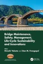 Bridge Maintenance, Safety, Management, Life-Cycle Sustainab