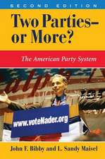 Two Parties--or More?