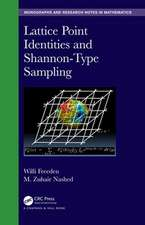 Lattice Point Identities and Shannon-Type Sampling