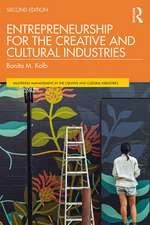 Kolb, B: Entrepreneurship for the Creative and Cultural Indu
