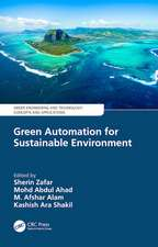 Green Automation for Sustainable Environment